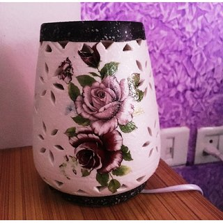 Ceramic Aroma Electric Diffuser and light lamp