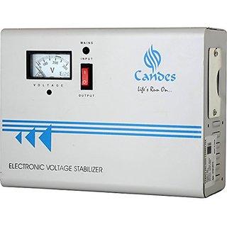 Candes 540 Voltage Stabilizer For Ac Upto 2 Ton (170 - 270 V) (Ivory)