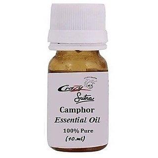 Crazy Sutra 100 Pure Camphor Essential Oil (10 ml ) EssOilH-Camphor
