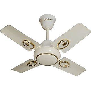 Candes 600mm High Speed Kwid Ceiling Fan (IVORY) (100% Copper Winding with 2 Year warranty 5 Star Rating)