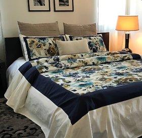 Blossom blue Bedcover