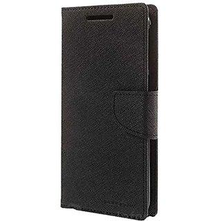 Universal Black Color Vimkart mobile wallet Flip cover case, guard, protector for 5.2 inch mobile Vox