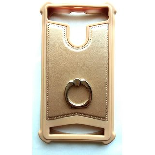 Universal Gold Color Vimkart mobile back cover case, guard, protector for 4 inch mobile Google