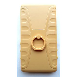 Universal Beige Color Vimkart mobile slider cover back case, guard, protector for 4 inch mobile Whitecherry