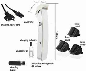 ACM Unique Trimmer NS-216 Branded Quality Men Boy Rechargeable Trimmer Clipper Stainless Steel Blades