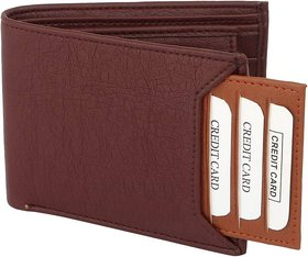 Insta Brown  Tan Card Men's Wallet