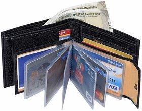 Insta New Black Chain Album Men's Wallet