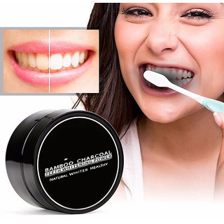 Teeth Whitening Powder Organic Charcoal Bamboo Natural Teeth Tooth Oral Care