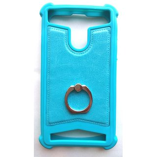 Universal Blue Color Vimkart mobile back cover case, guard, protector for 5 inch mobile Tecno