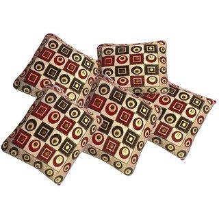 Shiv kirpa Cushion Cover Set Of 5