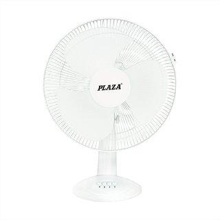 Plaza Neo Table Fan 400 mm High Speed Table Fan- White