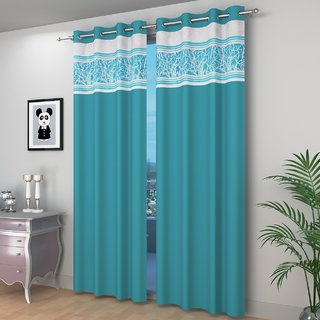 Cloud India Door & Window Curtains Polyster Living Room & Bed Room Curtains Pack of 1 With Attractive Color