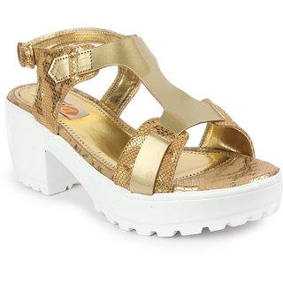 Digni Women's Gold heels