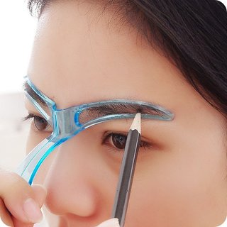 Kelley Eyebrow Template Stencil Grooming Shaping Helper DIY Makeup Beauty Tool GK-EBT-9927 Eyebrow Stencil