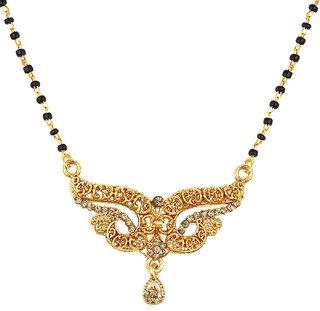 ShoStopper Amazing Gold Plated Mangalsutra Pendant SJ16037MPN