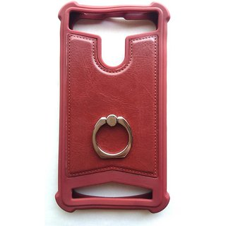 Universal Brown Color Vimkart mobile back cover case, guard, protector for 5.3 inch mobile Tecno