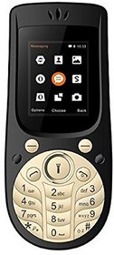 Ikall  K18 New (1.8Inch, Dual Sim, FM  Blutooth) 2G Black Mobile Phone