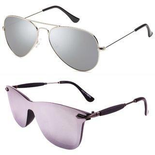f651f95af0f Buy 29K Combo of Silver Mercury Sunglasses Online - Get 81% Off