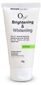O3+ Brightening  Whitening Face Wash