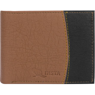 Fastrace Insta Tan Multi Colour Men's Wallet (Synthetic leather/Rexine)