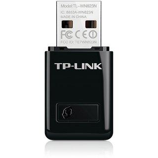 TP Link TL WN823N 300Mbps Mini Wireless N USB Adapter  Black