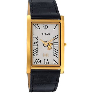 Titan Quartz Silver Dial Mens Watch-1515YL01