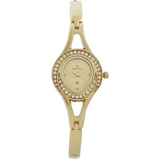 Maxima 24380BMLY Gold Watch  - For Women