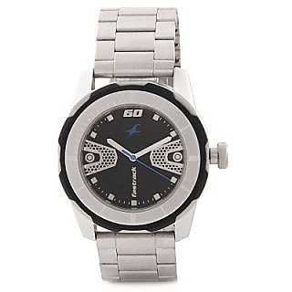 Fastrack Quartz Black Round Men Watch 3099SM06