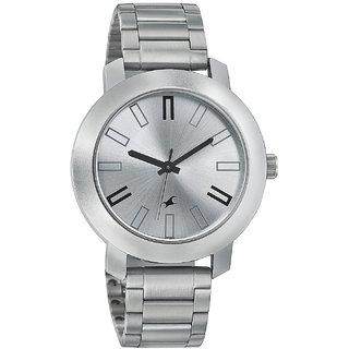Fastrack Quartz Silver Round Men Watch 3120SM01