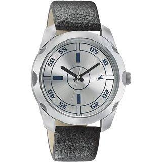 203f71183 Buy Fastrack Quartz Silver Round Men Watch 3123SL01 Online - Get 5% Off