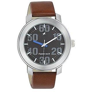 1b26df9e9 Buy Fastrack Quartz Black Round Men Watch 3121sl01 Online - Get 5% Off