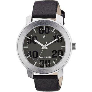 bbc0216b8 Buy Fastrack Quartz Grey Round Men Watch 3121SL02 Online - Get 6% Off