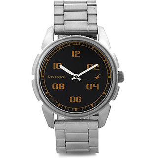 FASTRACK MEN METAL ANALOG SILVER WATCHES 3124SM02