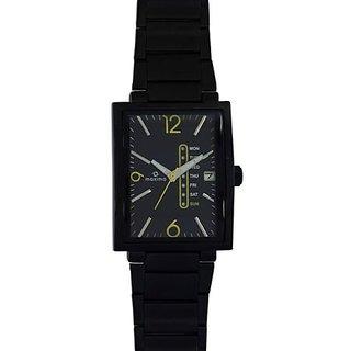 Maxima Quartz Black Rectangle Men Watch 31390CMGB