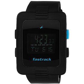 Fastrack Casual Digital Black Dial Mens Watch - 38009Pp01J
