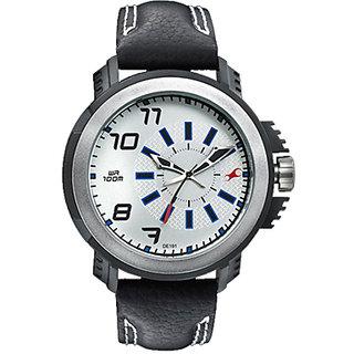 Fastrack Quartz Grey Round Men Watch 38015PL01
