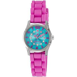 Fastrack Quartz Blue Round Girl Watch 6116SP02