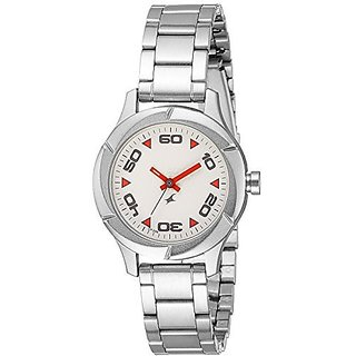 Fastrack Quartz Silver Dial Women Watch-6141SM01