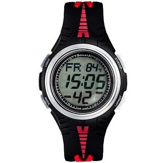 Sonata Quartz Grey Dial Mens Watch-7965PP02