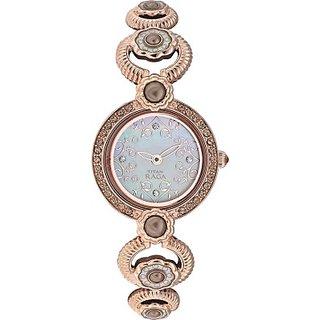 Titan Quartz Brown Dial Women Watch-9902WM01