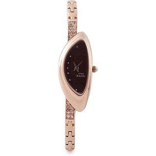 Titan Quartz Brown Dial Women Watch-9934WM01