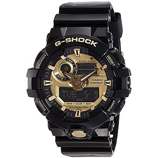 Casio G-Shock Analog-Digital Gold Dial Mens Watch-Ga-71