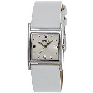 Timex Quartz Silver Dial Women Watch-TI000U70000