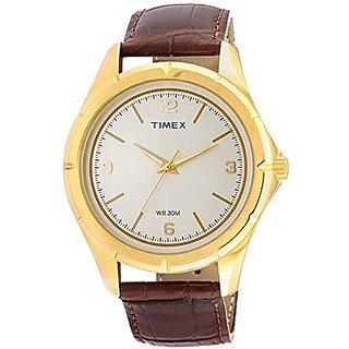 Timex Quartz Khaki Dial Mens Watch-TI000V90100