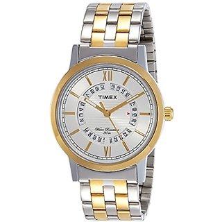 f8a21677ae8 Timex Quartz Silver Dial Mens Watch-TW000T128