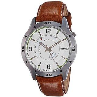 Timex Quartz Silver Dial Mens Watch-TW000U908