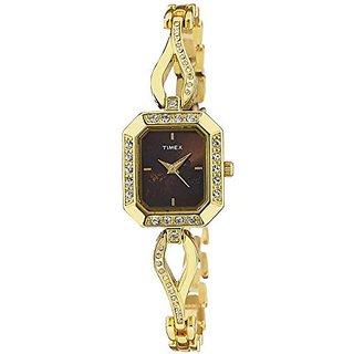 Timex Quartz Pink Dial Women Watch-TW000X601