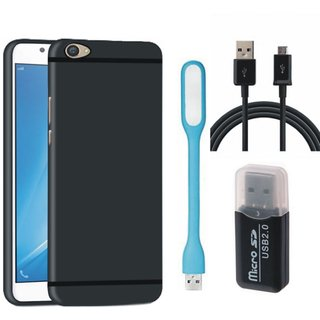 Samsung C9 Pro Premium Quality Cover with Memory Card Reader, USB LED Light and USB Cable