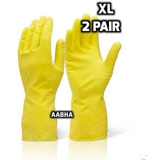 Waterproof Cleaning Household Gloves for Kitchen, Dish Washing, Laundry, Perfect For Garden and Household Task,Size XL