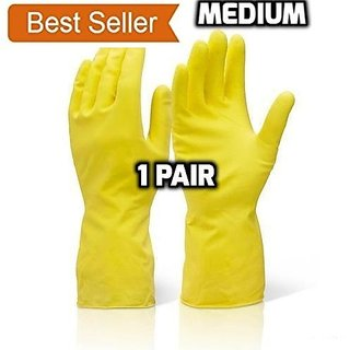 Kitchen Waterproof Household Gloves, Dishwashing ,Cleaning,Gardening Latex Rubber Gloves